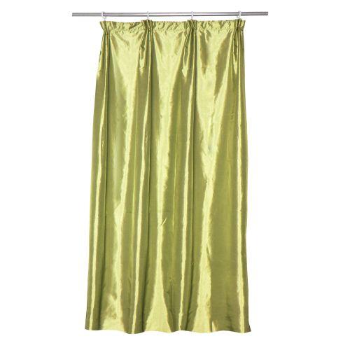 "Draperie tafta verde, 140 x 260 cm, ""Apple 4"""