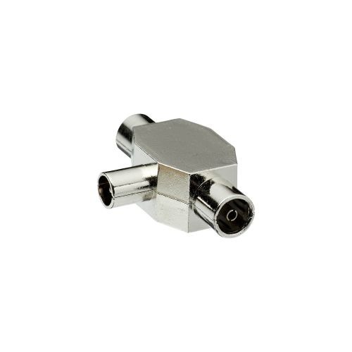 Conector T 9.52 mm 2F/ 1M metal, Evology
