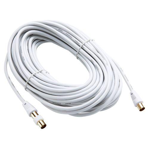 Cablu tv + adaptor Evology, 20 m