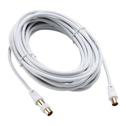 Cablu tv + adaptor Evology, 10 m