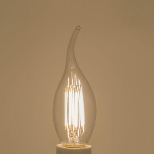 "Bec flacara LED E14, lumina neutra ""Lexman"""