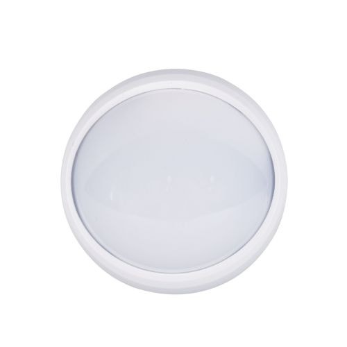 Plafoniera rotunda alba cu LED integrat, 12 w, 840 lm, IP 65