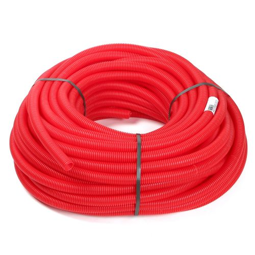 Tub flexibil rosu pentru PEX D16 mm L 50 m