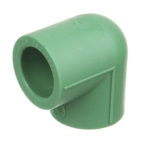 Cot 90° PPR verde D20 mm PN25