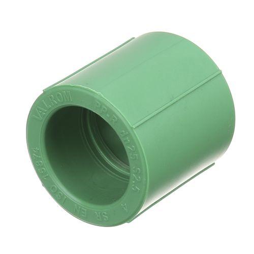 Mufa PPR verde D25 mm PN25