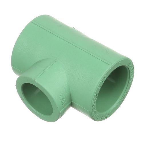 Teu redus PPR verde D32 x 25 x 32 mm PN25