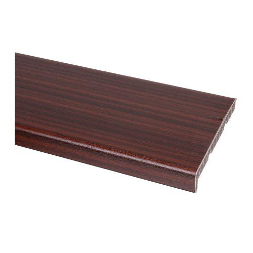 Glaf PVC pentru interior, mahon 300 x 25 cm