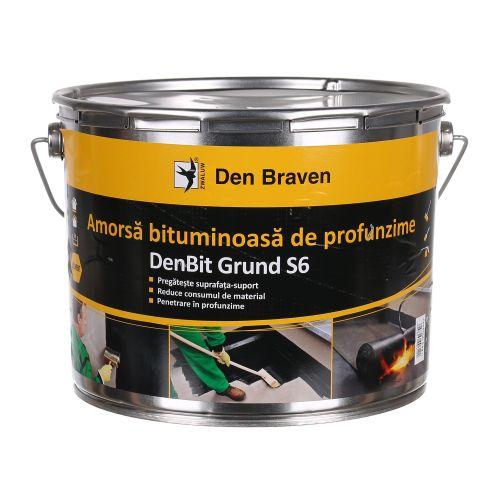 Denbit Grund S6 Amorsa bituminoasa 9 kg