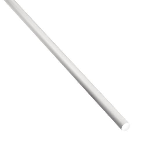 Plin rotund aluminiu natural 4 x 1 m