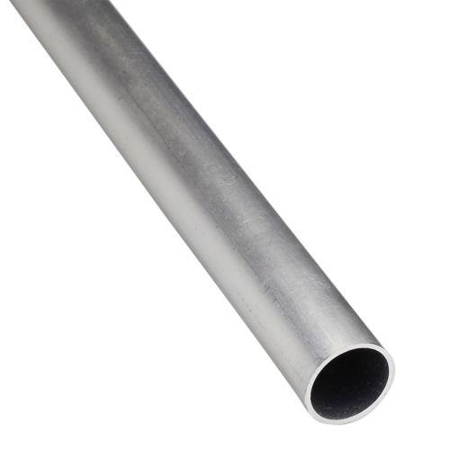 Rotund gol aluminiu 6 x 6 x 1 mm, 1 m