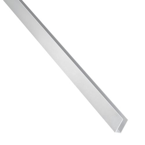 U aluminiu natural 8 x 8 x 1 mm, 1 m