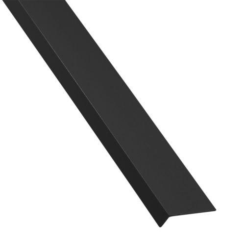 L inegal pvc negru 19.5 x 11.5 x 1.5 mm, 1 m