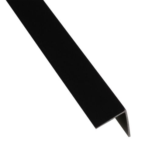 L egal pvc negru 19.5 x 19.5 x 1.5 mm, 1 m