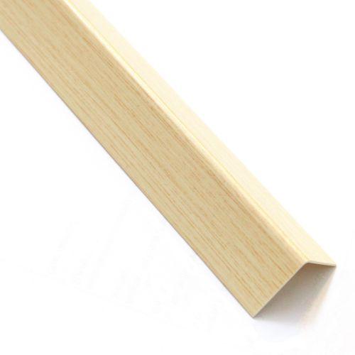 L inegal pvc lemn deschis 10 x 13 mm, 1 m