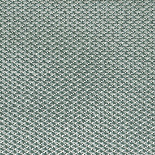 Tabla perforata plasa maruntita otel 12 x 100 x 0.12 mm, 1 m