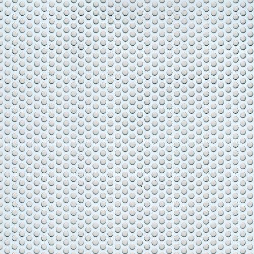 Tabla perforata rotund mic aluminiu 25 x 50 x 0.15 mm, 0.5 m