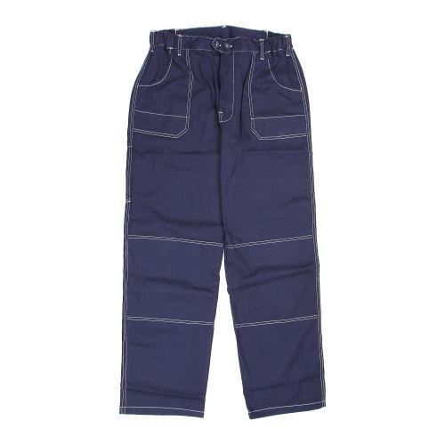 Pantaloni in talie bleumarin 100% bumbac marimea M