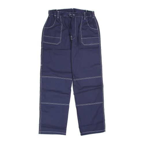 Pantaloni in talie bleumarin 100% bumbac marimea XXL