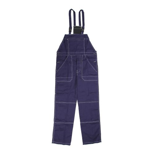 Pantalon cu pieptar bleumarin XXL