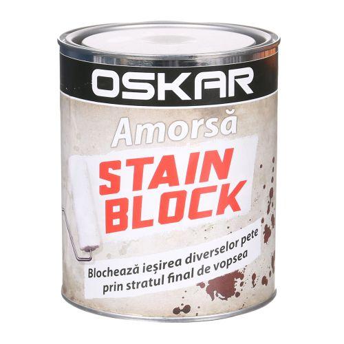 Amorsa 1 l, Oskar Stain Block