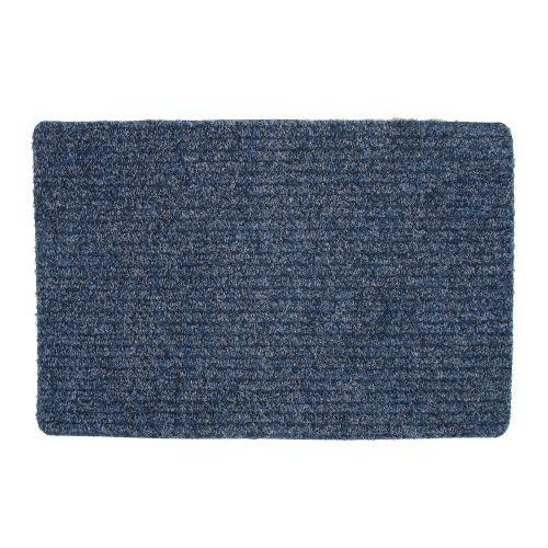 Covoras intrare 40 x 60 cm dungi albastru
