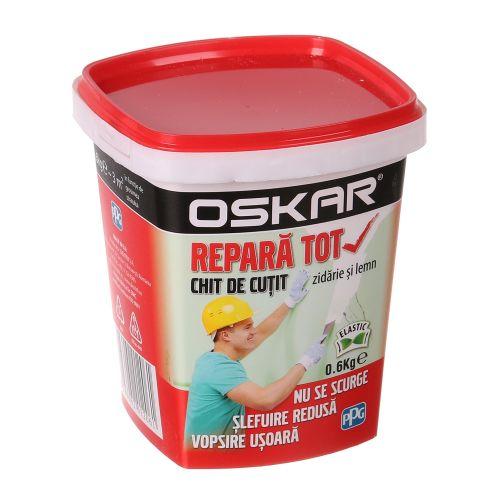 """Chit de cutit """"repara tot"""" 0.6 Kg, Oskar"""