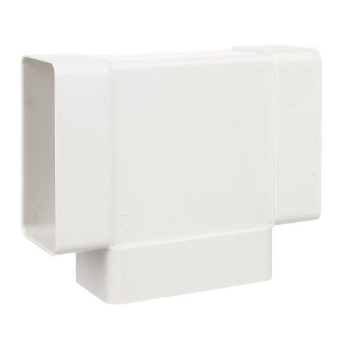 Teu PVC 90° pentru tub D120 x 58 mm