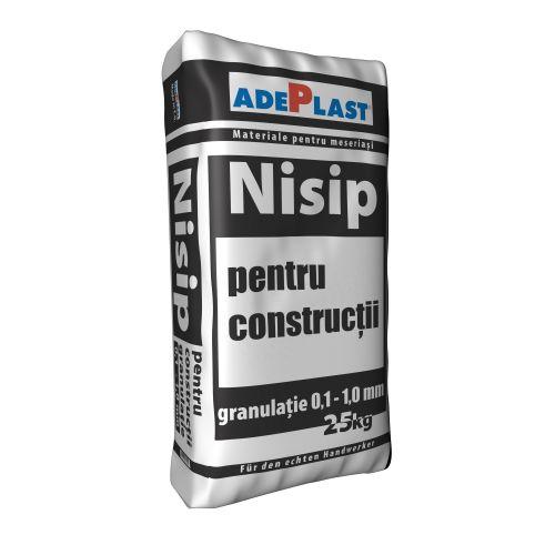 Adeplast nisip sac 25 kg 0.1 - 1 mm