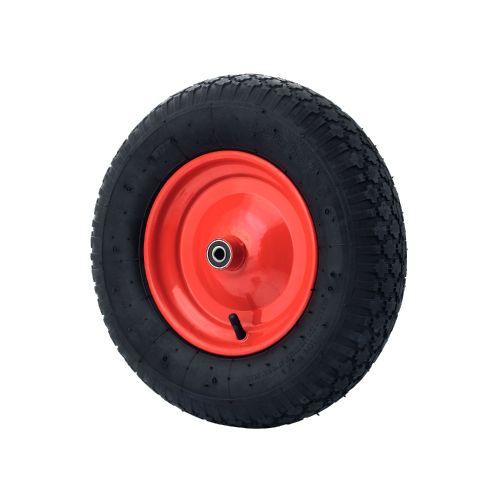 Roata pneumatica 400 mm ax 12 mm, sarcina 150 kg