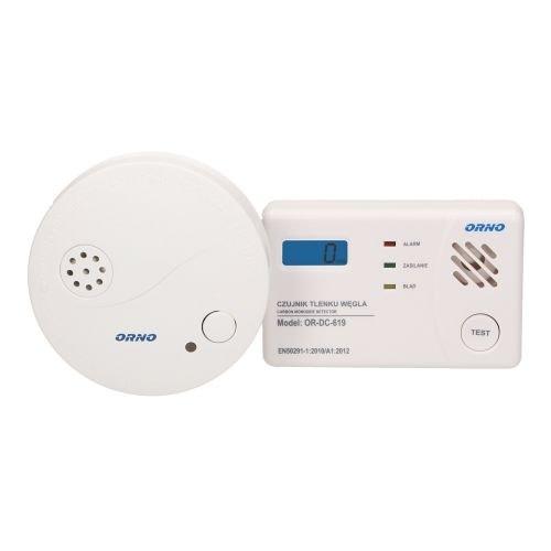Set detector monoxid de carbon Orno