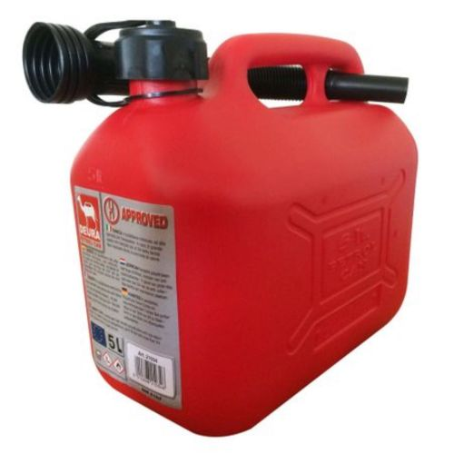 Canistra combustibil 5 L cu palnie plastic