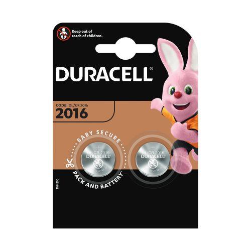 Baterii lithium CR2016 x2 Duracell