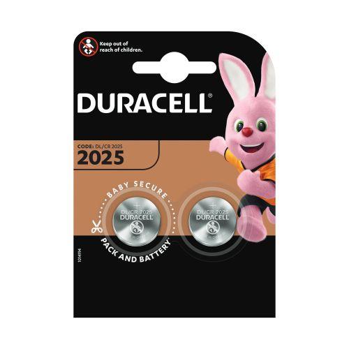 Baterii lithium CR2025 x2 Duracell