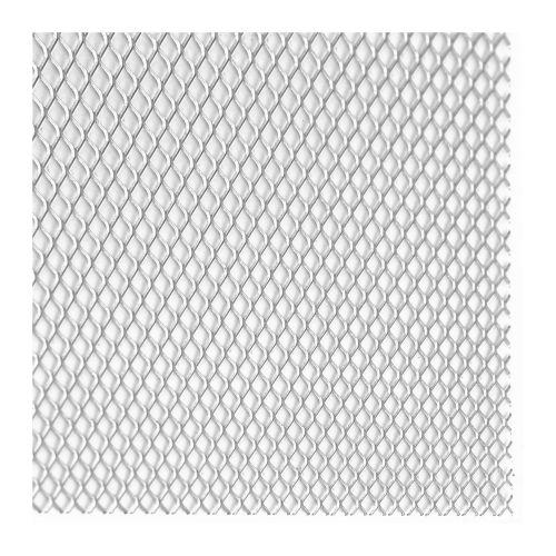 Tabla expandata otel brut 25 x 50 x 0.12 mm, 0.5 m