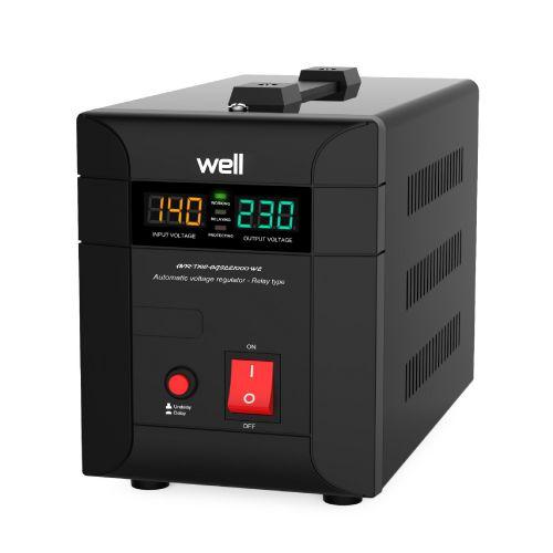 Stabilizator Agile AVR 1000VA/700W Well