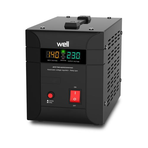 Stabilizator Agile AVR 2000VA/1400W Well