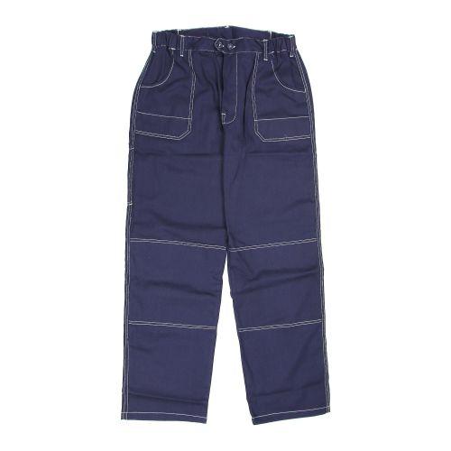 Pantaloni in talie bleumarin 100% bumbac marimea L
