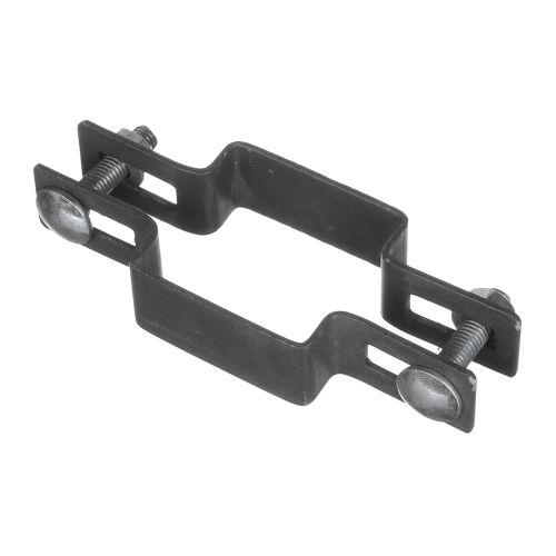 Clema centru 5 x 5 cm negru RAL 7016