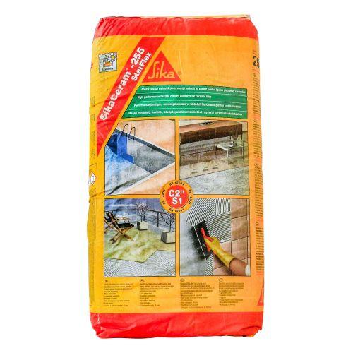 Adeziv interior/exterior gresie/faianta Flex C2TES1 25 kg gri