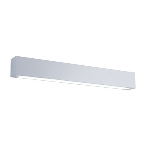 Aplica baie, LED, 9W, IP44, gri