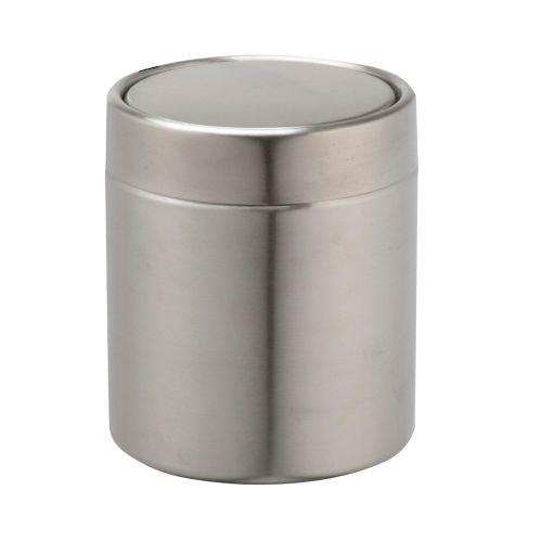 Cos gunoi cosmetice 1.25L argintiu mat Urban