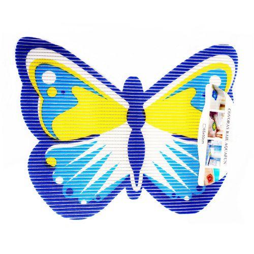 Covoras baie figurina Fluture ablastru