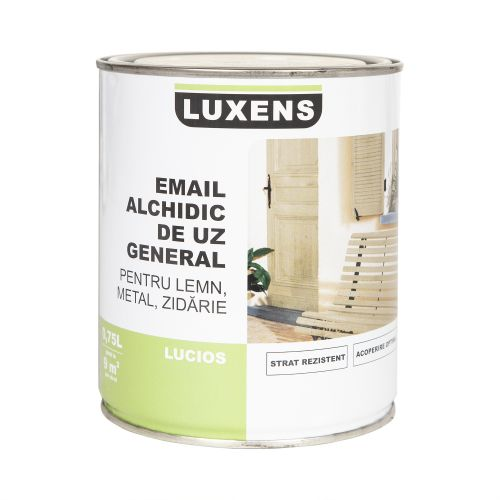 Email solvent Luxens negru light 0.75 l