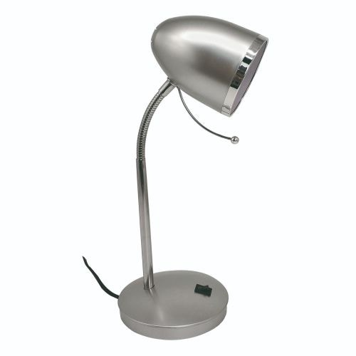 """Lampa birou, E27, 30W, argintiu, """"Nae"""""""